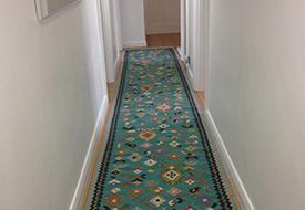 Kilim Runner: Autumn Vine